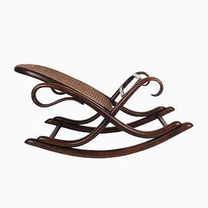 Vintage Fußhocker von Thonet