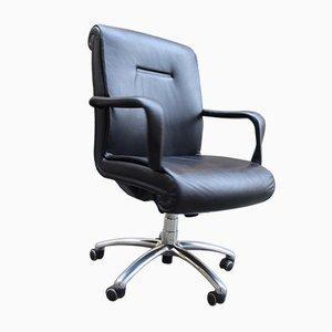 Chaise de Bureau Exécutive Vintage de Poltrona Frau