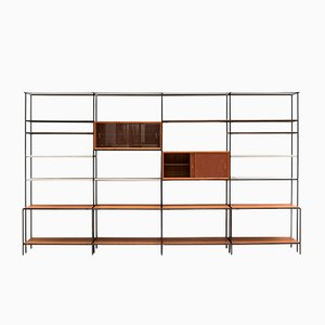 Danish Abstracta Shelving Unit by Poul Cadovius, 1960s