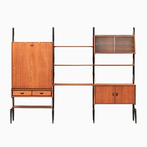 Duch 3-Piece Wall Unit by Louis van Teeffelen for WéBé, 1950s