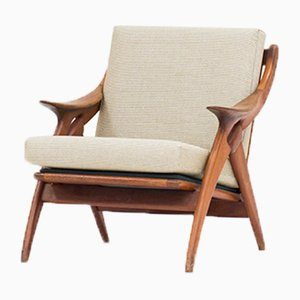 Dutch De Knoop Easy Chair from De Ster Gelderland, 1960s