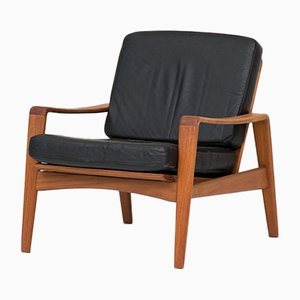Danish Easy Chair by Arne Wahl Iversen for Komfort, 1960s