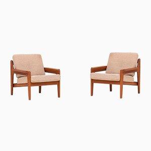 Sessel von Arne Wahl Iversen für Komfort, 1960er, 2er Set
