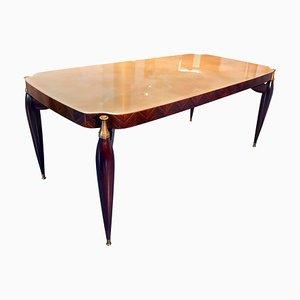 Mid-Century Italian Rosewood Dining Table, 1950s