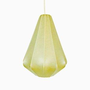 Petite Lampe à Suspension Cocon Mid-Century, 1960s