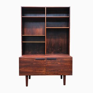 Rosewood Sideboard with Bookcase by Ib Kofod Larsen for Faarup Møbelfabrik, 1960s