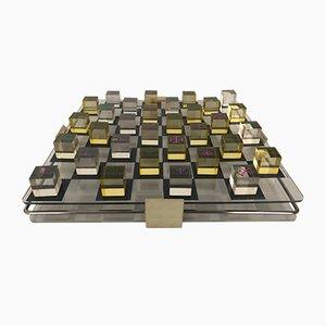 Schachbrett aus Plexiglas von Brevettata, 1970er