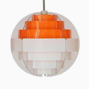 Lampe à Suspension Strips par Brylle & Jacobsen pour Quality System, Danemark, 1980s