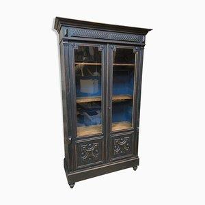 Antique Napoleon III Style Showcase Cabinet