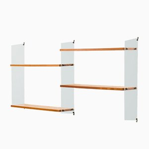 Swedish 2-Part Wall Unit by Kajsa & Nils 'Nisse' Strinning for String, 1950s