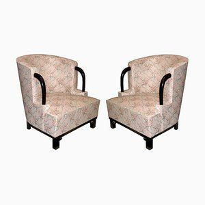Vintage Armchairs by Hubert Martin et Ploquin for Marber, 1930s, Set of 2