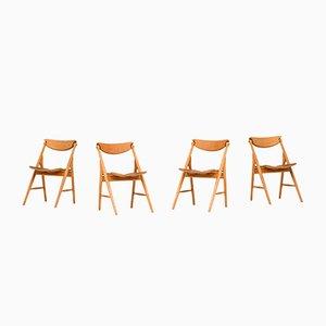 Chaises de Salle à Manger, Danemark, 1960s, Set de 4