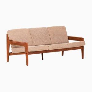 Sofá de tres plazas danés de Arne Wahl Iversen para Komfort, años 60