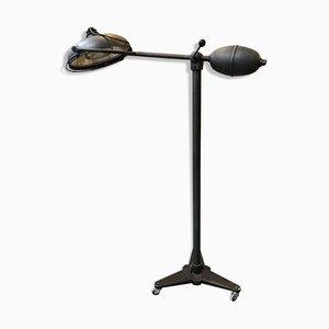 Lámpara de pie operativa vintage, años 80
