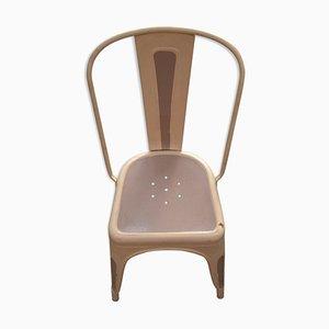 Französischer industrieller Stuhl, 1950er