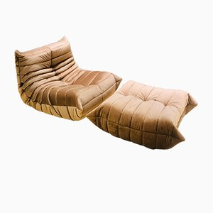 Togo Sofa Set by Michel Ducaroy for Ligne Roset, 1970s
