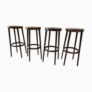 Sgabelli da bar, anni '70, set di 4