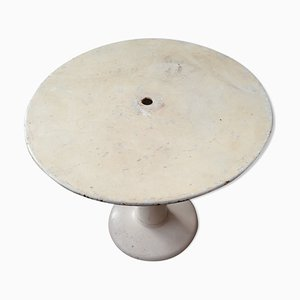 Round Industrial G20 Console Table, 1960s