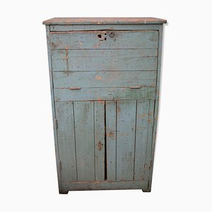 Blue Workshop Cabinet, 1940s