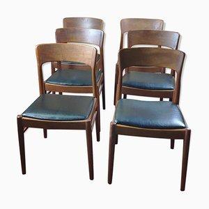 Dänische Vintage Esszimmerstühle von Henning Kjærnulf für KS Korup Stolefabrik, 6er Set