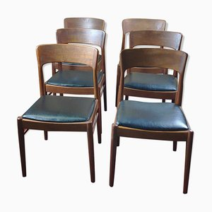 Vintage Danish Dining Chairs by Henning Kjærnulf for K.S. Korup Stolefabrik, Set of 6