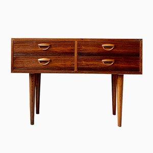 Mid-Century Danish Teak & Rosewood Sideboard by Kai Kristiansen, 1960s