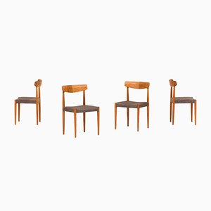 Niederländische Esszimmerstühle von Bovenkamp, 1960er, 4er Set