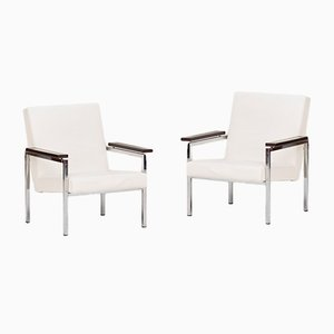 Dutch Model 30 Easy Chairs by Gijs van der Sluis, 1960s, Set of 2