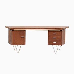 Niederländischer Boomerang Schreibtisch von Cees Braakman für Pastoe, 1960er