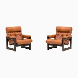 Easy Chairs, 1970s, Set of 2