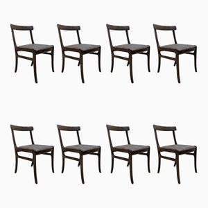 Vintage Dining Chairs by Ole Wanscher for Poul Jeppesens Møbelfabrik, Set of 8
