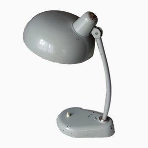 Lámpara de mesa italiana ministerial vintage grande, años 50
