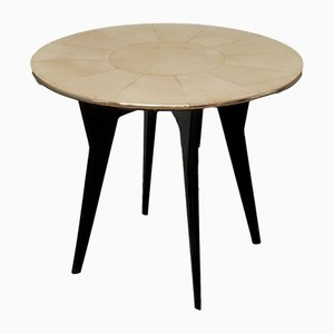 Mesa de té o de juegos Art Déco, años 40