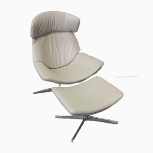 Armchair and Ottoman by EOOS for Walter Knoll, 2000s