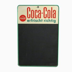Cartel de Coca Cola, años 50