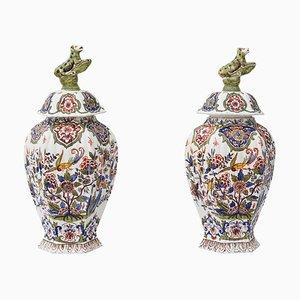 Große Vasen, 19. Jh., 2er Set