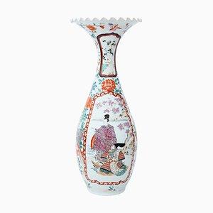 Large Japanese Meiji Kutani Vase