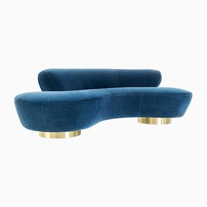 Mohair Cloud Sofa by Vladimir Kagan for Directional, 1970s