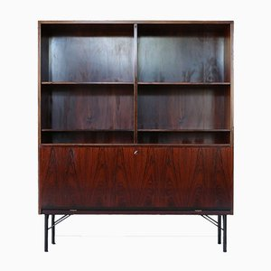 Rosewood Highboard from Omann Jun, 1960s
