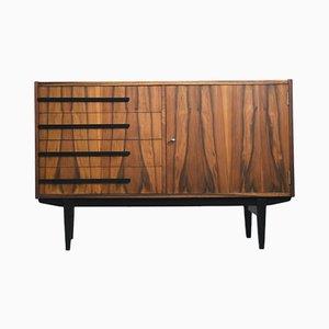 Mueble 500-138/B de nogal de Zielonogórskie Fabryki Mebli, 1964