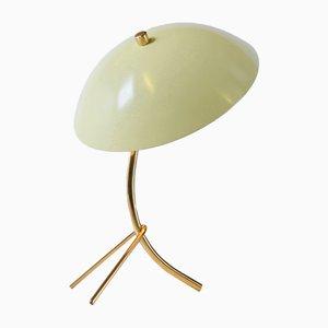 Lampe de Bureau en Laiton par Angelo Lelli pour Arredoluce, 1950s