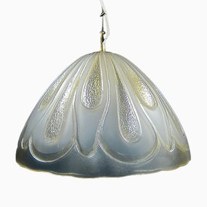 Mid-Century Glass Ceiling Lamp from Kalmar Franken KG