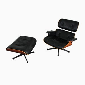 Lounge Chair & Ottoman Set by Charles & Ray Eames for Vitra, 2000s