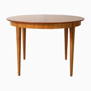 Vintage Extendable Cherry Dining Table from Alma Möbel, 1960s