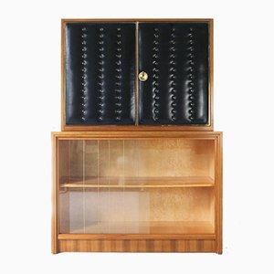 Mueble bar vintage de nogal, años 60