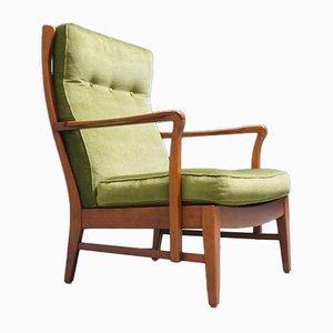 Schwedischer Mid-Century Sessel mit hoher Rückenlehne, 1960er