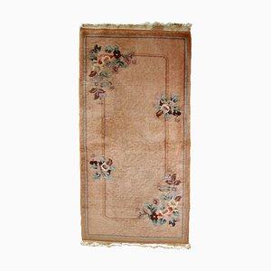 Chinesischer Vintage Art Déco Teppich, 1950er