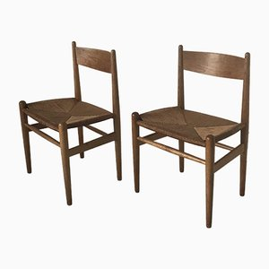 CH 36 Dining Chairs by Hans J. Wegner for Carl Hansen & Søn, 1960s, Set of 2