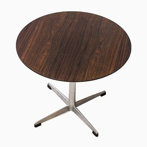 Danish Rosewood Side Table by Arne Jacobsen for Fritz Hansen, 1964