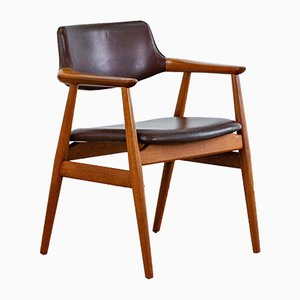 Vintage Danish Teak GM11 Chair by Svend Åge Eriksen for Glostrup, 1960s